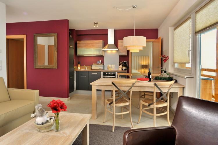 Der Auhof - Wohnen im Urlaub - Appartement Küche
