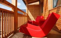 Der Auhof in Kaprun - Hotelsuite Sonnenbalkon